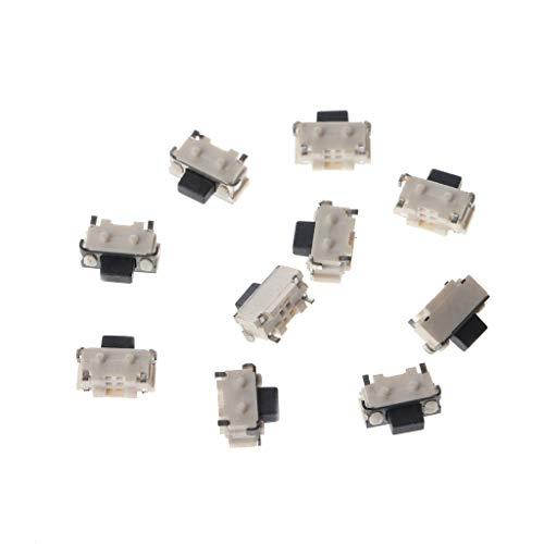 Folewr 10 unids/1 set lado táctil botón micro SMD SMT táctil interruptor 2x4x3.5mm