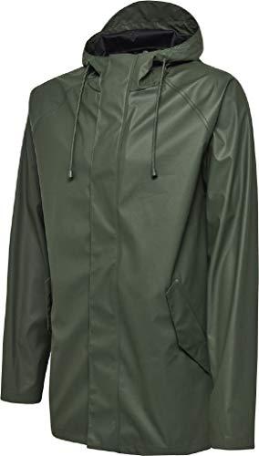 hummel Herren hmlROONIE RAIN Coat Jacke, Wald Nacht, S