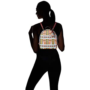 31oc0TuM4HL. SS300  - TOUS Alicya, Bolso mochila para Mujer, 21.5x25x9.5 cm (W x H x L)