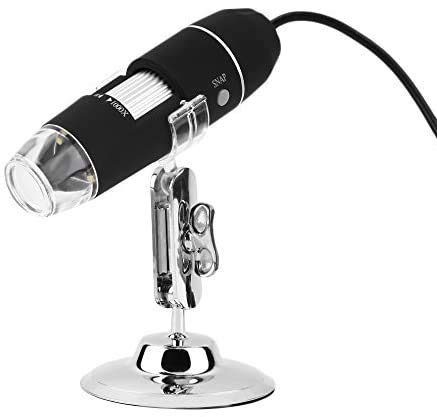 USB Microscope, KKmoon 1000X 8 LED Digital Microscope USB Endoscope Camera Microscopio Magnifier Electronic Stereo Z P4PM