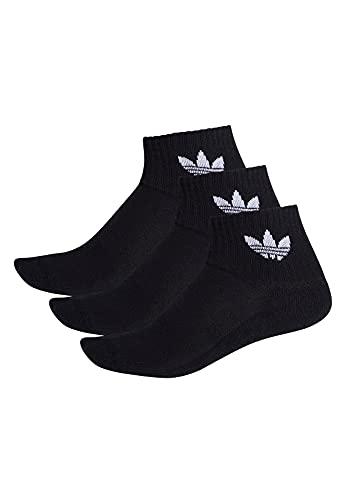 adidas Mid-Cut (3 Paia), Calze Sportive Unisex-Adulto, Nero, S