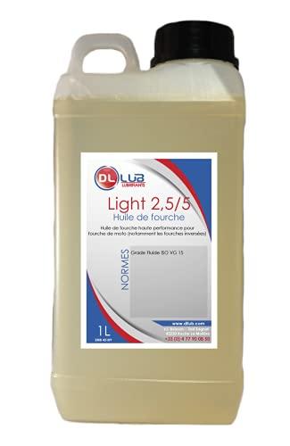 DLLUB - HUILE DE FOURCHE FORK LIGHT 2.5/5-1 litre
