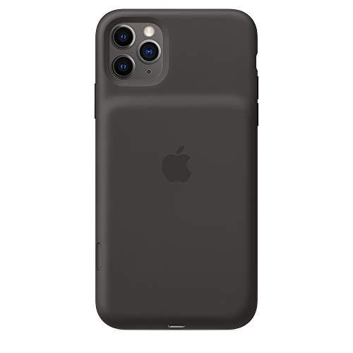 Apple Smart Battery Case con Ricarica Wireless (per iPhone 11 Pro Max), Nero