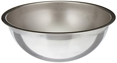 Vollrath 69050 5-Quart Heavy-Duty Mixing Bowl, Stainless Steel