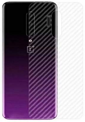 S-Softline Ultra Thin Slim Fit 3M Clear 3D Carbon Fiber Back Skin Rear Screen Guard Protector Sticker Protective for OnePlus 7T Pro (Transparent)