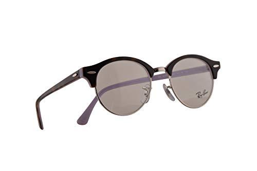 Ray-Ban RB 4246-V Eyeglasses 47-19-140 Havana Opal Violet w/Demo Clear Lens 5240 RX 4246V RX4246V RB4246V