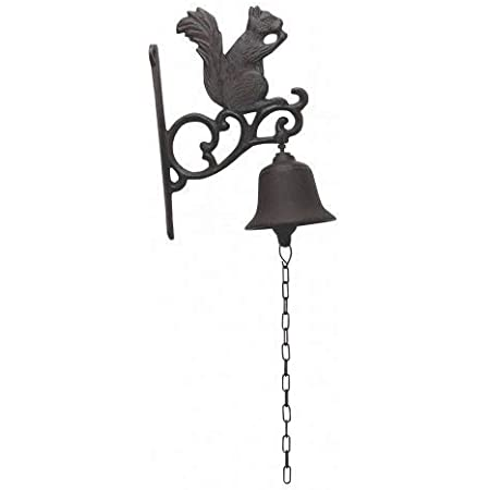 Cast Iron Bell With Hanging Chain YF853