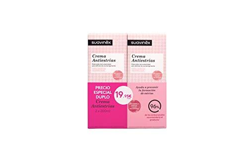 Pack Duplo Suavinex 2 unidades Crema Antiestrías Embarazo – 2 x 200ml