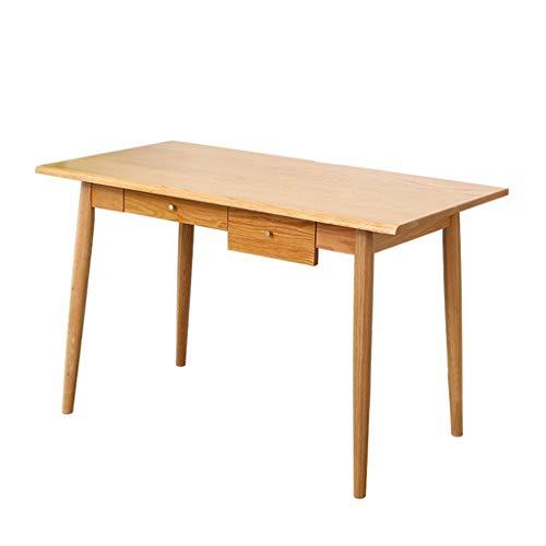 Xu-table studie Toddler Schildertafel, klaslokaal schrijven opslagactiviteit Tabel, laptop massief houten werkbank met twee laden van het nieuwe jaar