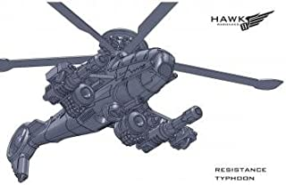 Dropzone Commander Resistance Cyclone / Typhoon Attack Helicopter (2)