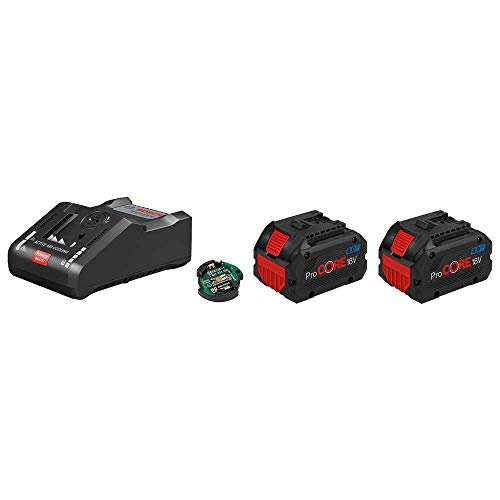 Bosch Professional 18V System 2 x ProCORE18V 8.0Ah Akkus + Ladegerät GAL 18V-160 C, im Karton
