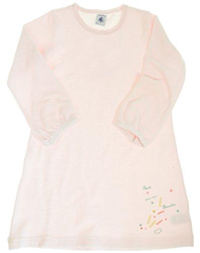 Petit Bateau Frottee Nachthemd - 67473 Rosa mit Motiv (4 A - 104)