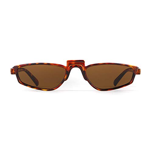 ZRTYJ Sonnenbrille Geometrische futuristische 90er Jahre Sonnenbrille Frauen Vintage Promi Rihanna Markendesigner kleine Sonnenbrille