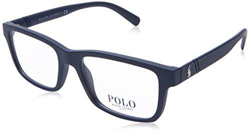 POLO RALPH LAUREN PH 2176 MATTE BLUE 52/17/145 Herren Brillen