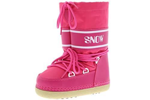 Vista Kinder Mädchen Winterstiefel Boots pink, Größe:32/33/34, Farbe:Pink