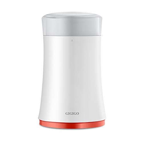 GIGIGO Compact and Durable Electric Coffee Grinder with Stainless Steel Blade for Home Use