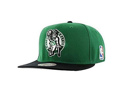 Boston Celtics Green/Black Two Tone Snapback Adjustable Plastic Snap Back Hat/Cap