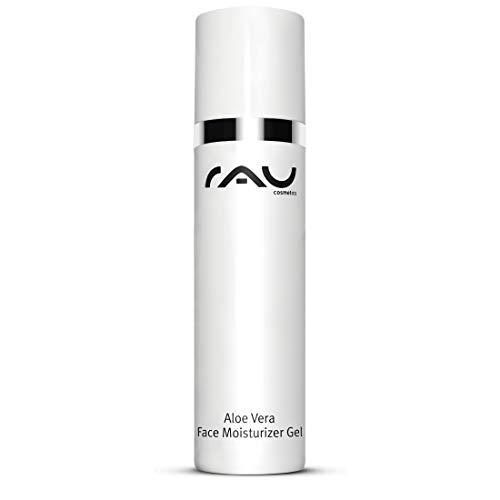 RAU Aloe Vera Face Moisturizer Gel 50 ml - Feuchtigkeitspflege für Gesicht und Körper mit Ectoin, After Sun