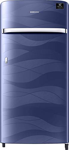 Samsung 198 L 4 Star Inverter Direct-Cool Single Door Refrigerator (RR21T2G2XUV/HL, Blue Wave)