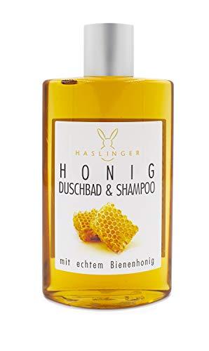 HASLINGER Nr. 2202, Honig Shampoo & Duschbad mit Bienenhonig 200ml, Luxuskosmetik