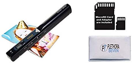 VuPoint Solutions PDS-ST415-VP Handheld Magic Wand Portable Scanner with Protective Carrying Case, 8GB Micro SD Card, JPG/PDF, 900DPI, Color/Mono, for Document, Photo, Magazine, Book