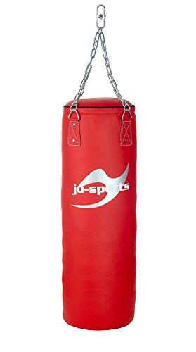 Ju-Sports Sandsack Training pro, Kunstleder gefüllt rot (120cm)
