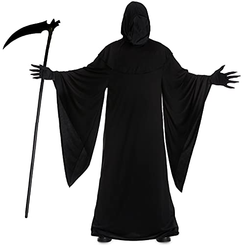 Morph Costumes Grim Reaper Costume Adult, Halloween Costume Men Available in Sizes M, L, XL, XXL