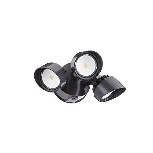 Lithonia Lighting OLF 3RH 4000K 120 BZ M4 Adjustable LED Security Floodlight, 120 Volts, 34 Watts, Bronze