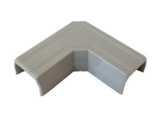 Verbinder für Kabelkanal Auswahl Typ und Farbe, Farbe Kabelkanal:grau, Größe Kabelkanal Verbinder:8x9mm-Typ L