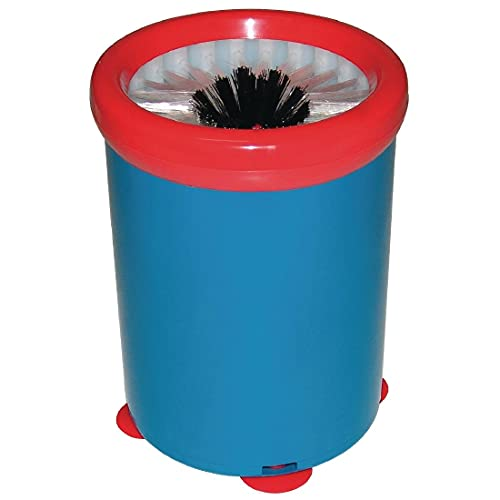 Jantex - Limpiador de vasos para bar, fácil de usar y limpiar, cepillo de nailon, redondo, 180 x 140 mm