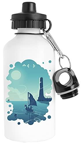 Los Waker Botella de Agua Acero Inoxidable Viajero Blanco Water Bottle Stainless Steel Traveller White