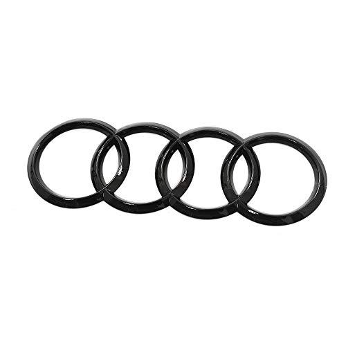 Audi 4K4071802 Ringe Emblem Logo Black Edition Blackline schwarz, für e-tron Sportback