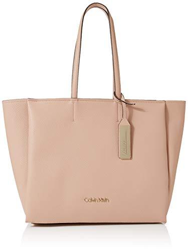 Calvin Klein Sided Shopper - Borse Tote Donna, Rosa (Nude), 1x1x1 cm (W x H L)
