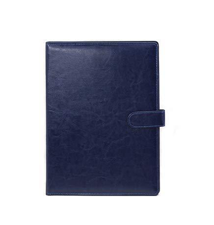 Papelería Papelería Papelería A4 Multifuncional Férula de papel en una habitación de clip individual This Contract This Business Sales (Color: Borde Azul) 🔥