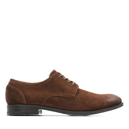 Clarks Herren Flow Plain Derbys, Braun (British Tan), 44 EU