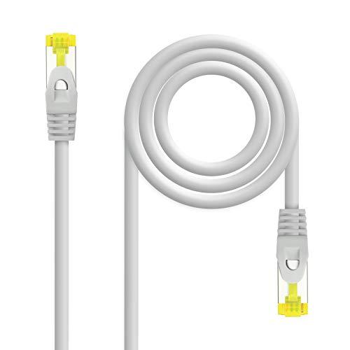 NanoCable 10.20.1901- Cable de Red Ethernet RJ45 LSZH Cat.6A SFTP, AWG26, 100%...