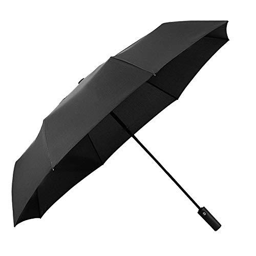 LiXiang666 Paraguas automático de Apertura automática Regalo publicitario Dama de Negocio y un Paraguas Plegable de Tres Veces Sol y la Lluvia (Color : Beauty Super Light Umbrella)