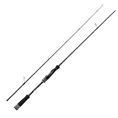 Hayandy ANGELRUTE 2-15g Fast Action 2.1m Test-Spinnrute for Light Trout Rod L Power Carbon Rod 4-8LB-Spinnrute Casting (Color : Spinning Rod)