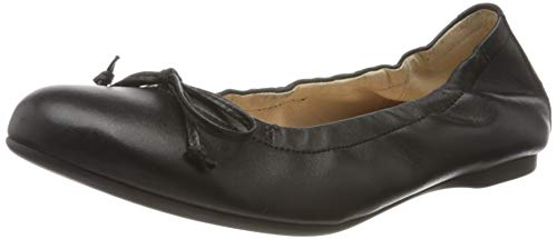 Gabor Shoes Damen Casual Geschlossene Ballerinas, Schwarz (Schwarz 27), 38.5 EU