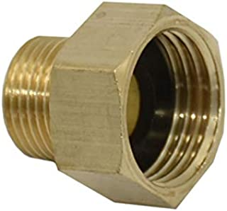 "YUZHE Female 1/2"" To 3/8"" Male Brass Threaded Connector Hose Repair Garden Water Tap Connector Hose Fittings 1pcs"