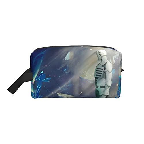 人気ソマリと森の神様 (1)旅行用コスメティックバッグ 大容量 化粧ポーチ 多機能 ステーショナリーバッグ 持ち運びが容易 防水 化粧袋 トラベルバッグ 軽量 小型 ハンドバッグ 男女兼用