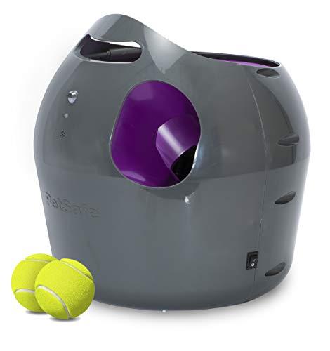 PetSafe - Lanceur de Balle de Tennis Automatique pour Chien, Jouet Interactif Chien, Dressage par le jeu dedans ou dehors, Réglage Multiple, Résistant à l'eau, Secteur ou Pile, Détecteur de mouvement
