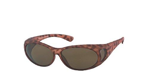 Kost gepolariseerde zon - overbril M4 zonnebril voor brildragers UV 400 CAT3
