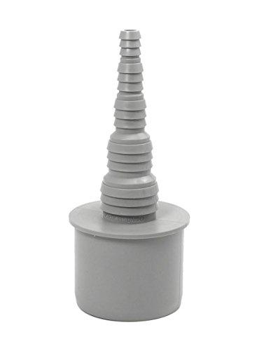 Airfit Schlauchnippel DN 50 für Schlauch von Ø 8 bis 25 mm - KS-Grau