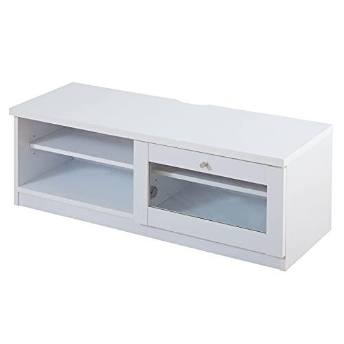 家具350 テレビ台 テレビボード おしゃれ ローボード 白 一人暮らし 北欧 収納 ホワイト 153003