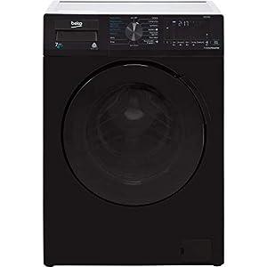 Beko WDB7426R1B 7kg Wash 4kg Dry 1200rpm Freestanding Washer Dryer – Black