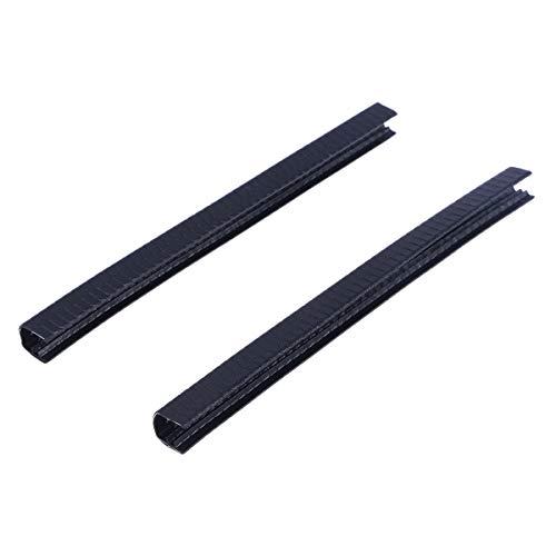 VORCOOL 2 stücke 30 cm Skateboard Decksschutz Protector Longboard Deck Kantenschutz Langlebig Stoßdämpfende Gummiabdeckung