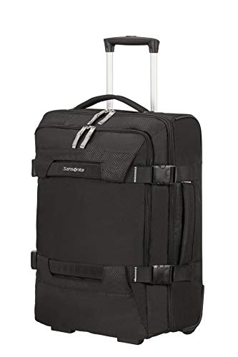 Samsonite Sonora - Travel Duffle with Wheels S, 55 cm, 48 Litre, Black