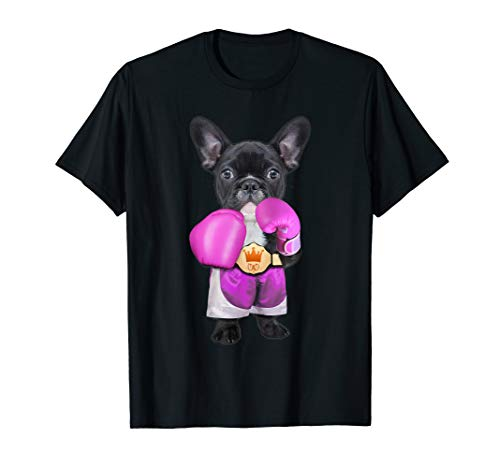 french bulldog funny French Bulldog Boxing T-Shirt