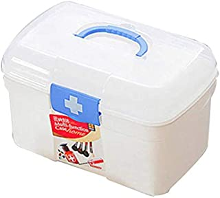 Large Capacity Household Multi-Layer First Aid Kit Multifunctional Medicine Box/First Aid Kit/Jewelry Storage Box/Storage ...